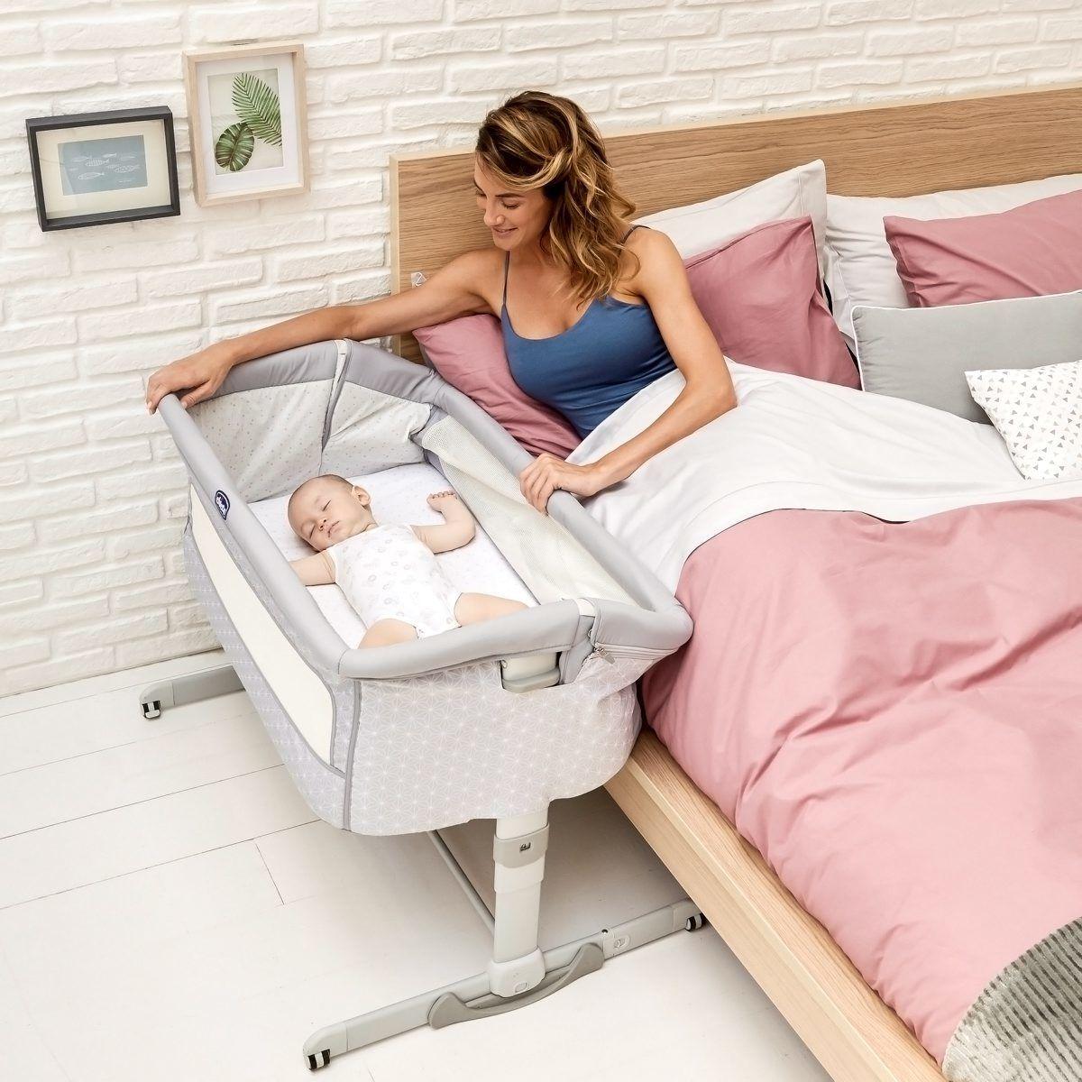 łóżeczko Dostawne Chicco Next2me Dream Praktyczna Dostawka